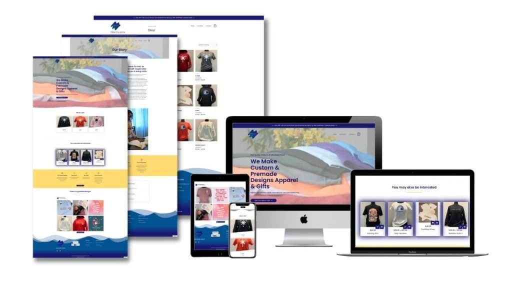 Pintados website design